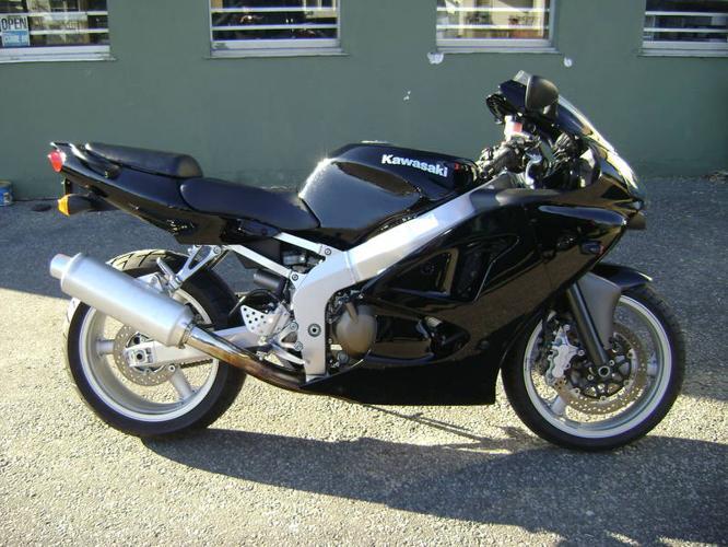 08 Kawasaki ZZR 600 For Sale