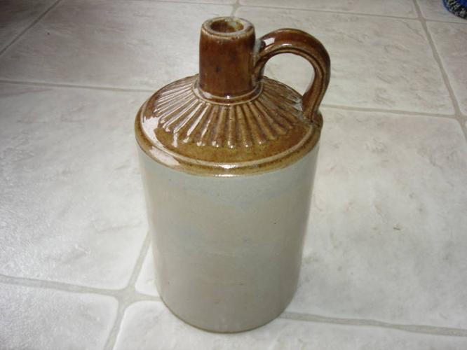 1-4 gal, 1-1 gal, Butter Churn, Pottery Planter