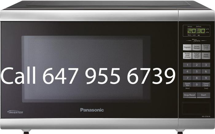 1.2 Cu.Ft 1200 Watts Panasonic Microwave for sale NNST661B black
