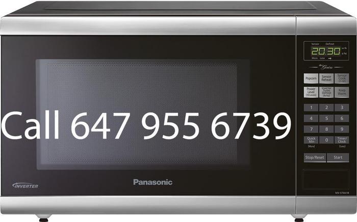 1.2 Cu.Ft 1200 Watts Panasonic Microwave for sale NNST661B black