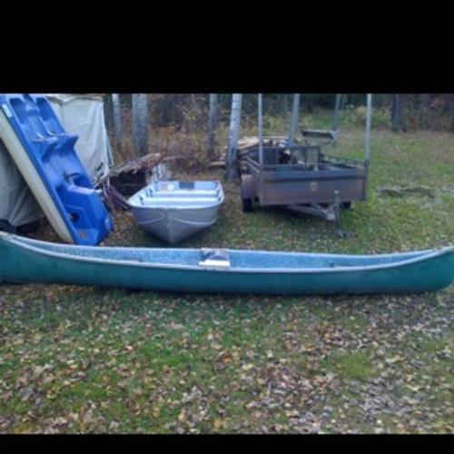 14 ft Kanuck Kanoe Fiberglass