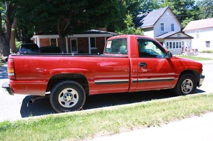 $1,500 OBO 2001 Chevy Silverado