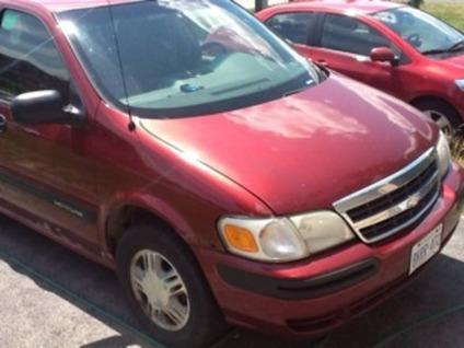 $1,500 2002 Chev Venture EXT. Minivan