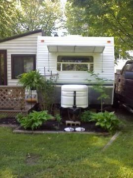 $16,500 2001 Prowler with Add a room , deck and shed