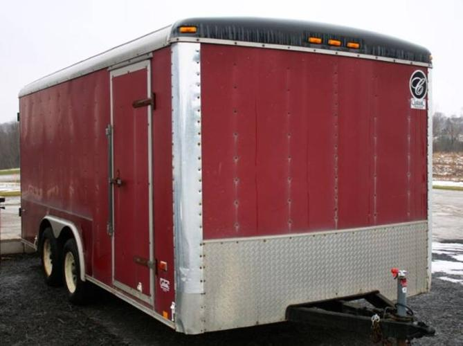 16ft Classic Enclosed Cargo Trailer For Sale In Mildmay