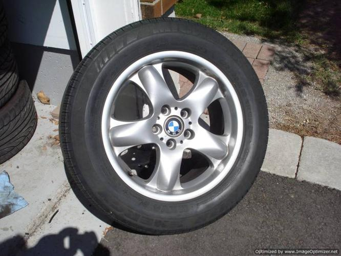 New Orleans Gmc Tires >> 18 inch ORIGINAL BMW X5 Package w 255 / 55 R18 Michelin Tires for sale in Mississauga, Ontario ...