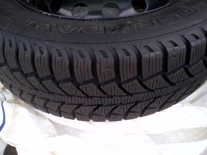 185/65R14 - Uniroyal Winter Tires - on 4 bolt 100mm rims