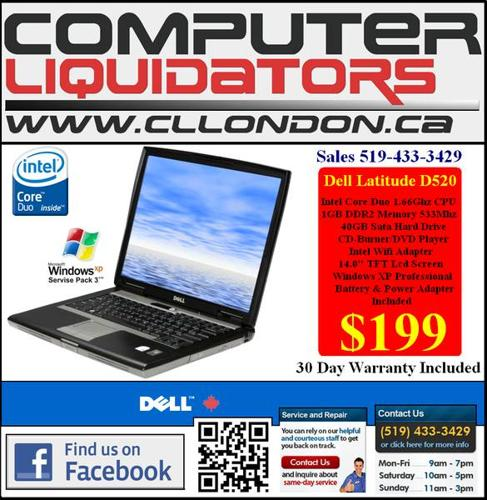 $189 DELL LAPTOPS/ $88 PC'S - WE WARRANTY ALL PRODUCT!!!!!!!!!