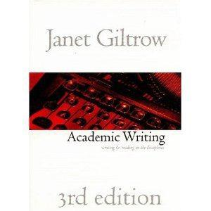 $18 Academic Writing: Writing and Reading in the Disciplines