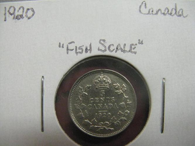 1920 Canadian nickel