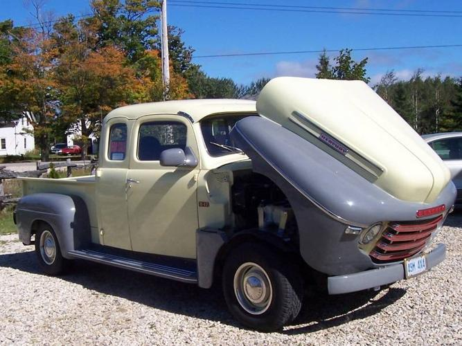 1949 Mercury Pickup Truck Club Cab