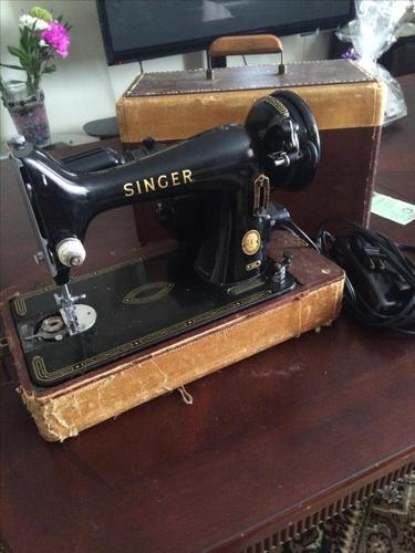 1949 singer sewing machine