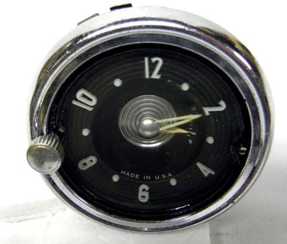 1953 54  Chevy Bel-Aire  Dash Clock Working