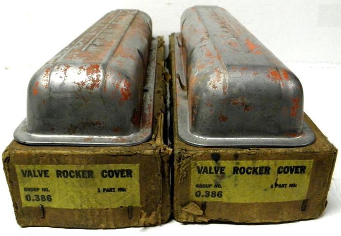 1955 56 57 58 59 Rat Rod Chev SBC Valve Cover Corvette