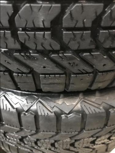 195/65r15 Firestone Winterforce (Steel Rims)