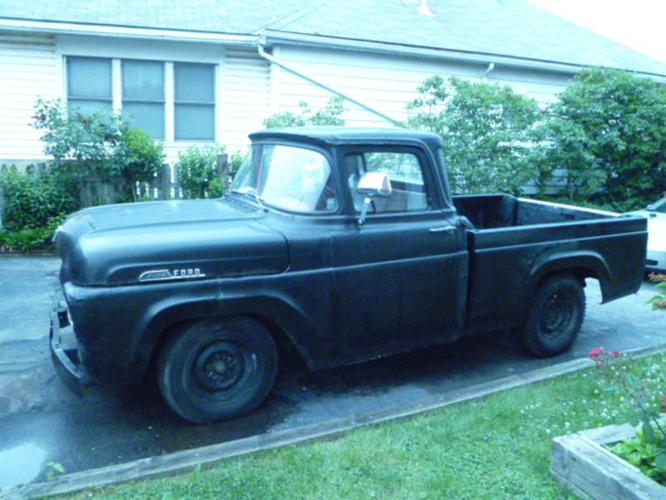 1957 Ford F 100 Pickup Truck For Sale In Grimsby Ontario
