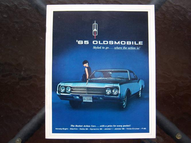 1965 Oldsmobile dealer showroom catalog