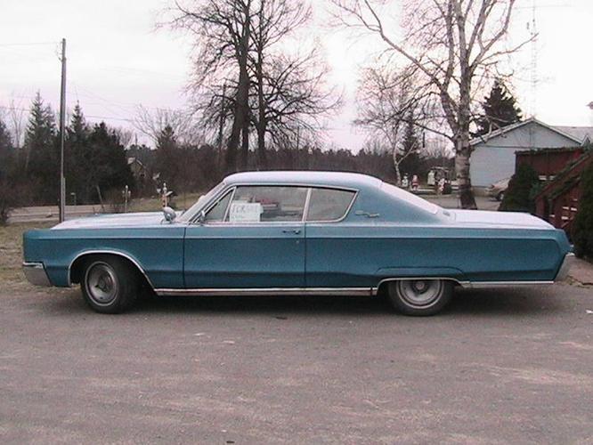 1967 Chrysler Newport 2 Door Hard Top for sale in Kirkfield, Ontario