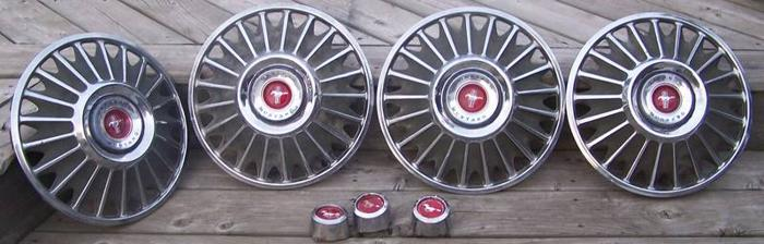 1967 Ford Mustang Hubcaps For Sale In Windsor Ontario Ads In
