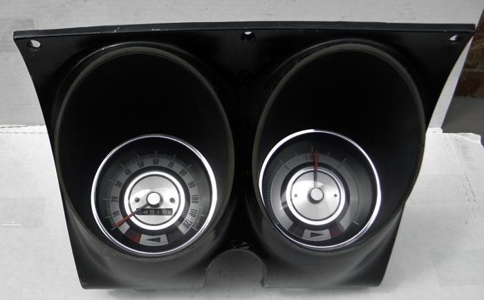 1968 67 Camaro Firebird Speedo Fuel Dash Cluster Gauges 68 Chevy