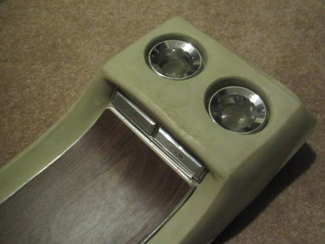 Mustang fastback overhead console for sale