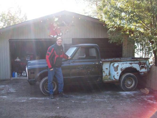 1969 Chevrolet C10 short box stepside Pickup Truck