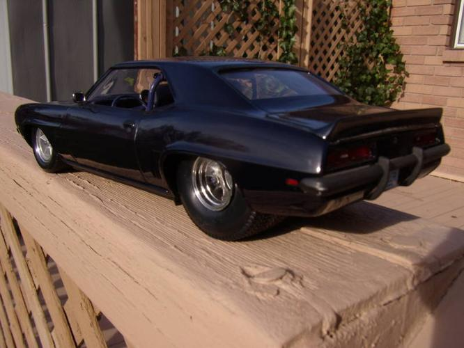 1969 Chevrolet Camaro Pro Street Built Model Cars For