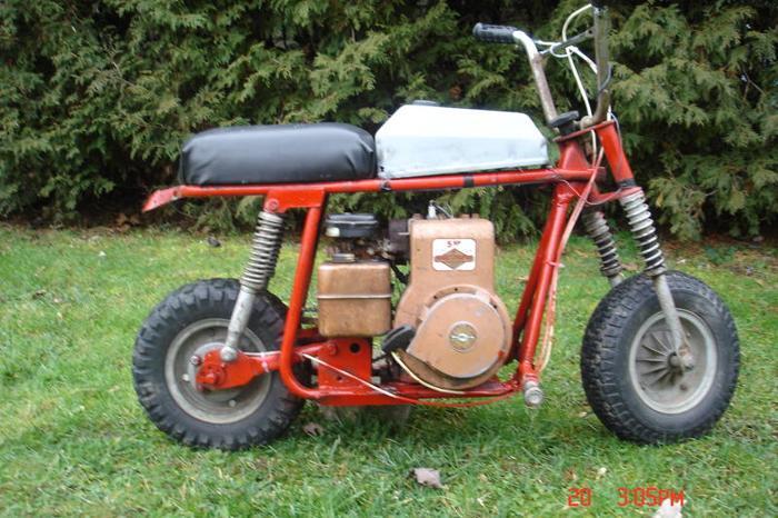 1970 BRONCCO TX-1 MINI BIKE