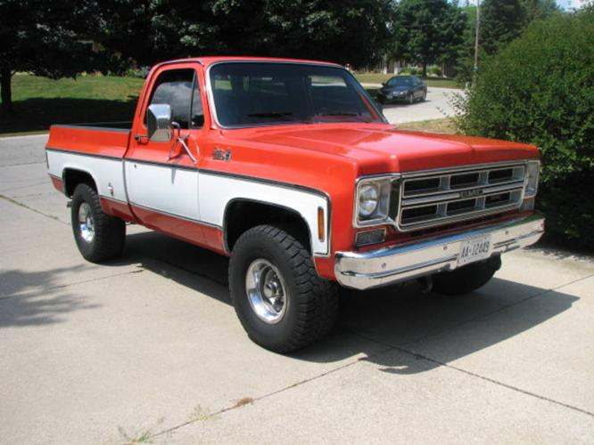 1975 GMC Short Box 4x4 Reduced for sale in Woodstock ...