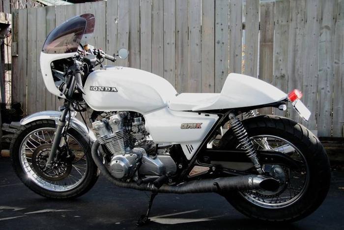 1982 Honda CB750k cafe racer completely rebuilt
