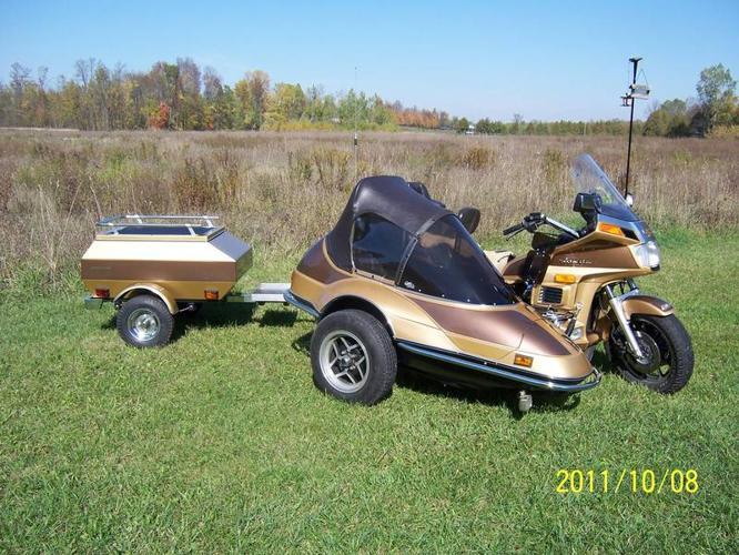 1985 Honda Gold Wing Limited Edition Sidecar Rig!
