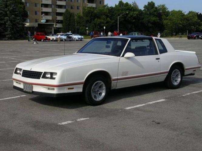 1987 monte carlo ss manual transmission
