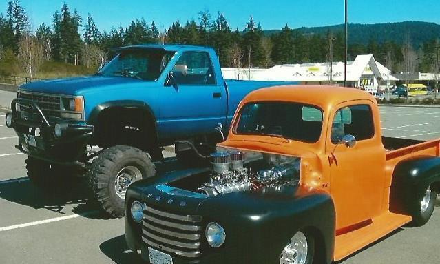 1988 Short -Box Chevy 4x4 Half Ton Lifted Truck