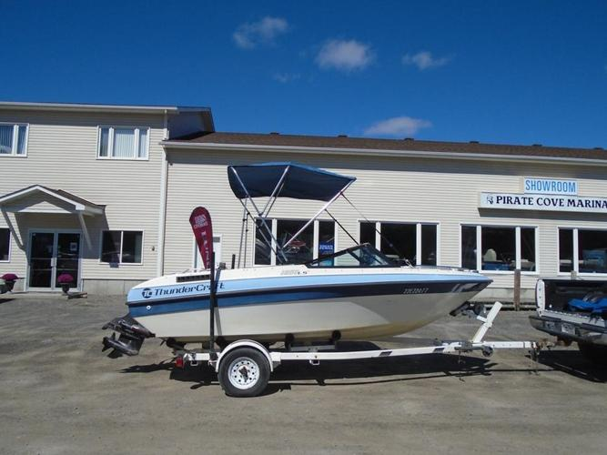1990 Thundercraft 1660 LS