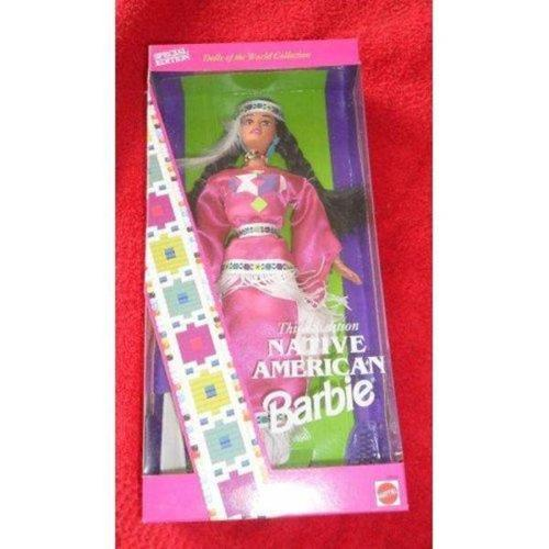 1994 NATIVE AMERICAN Barbie Doll~Dolls of the World