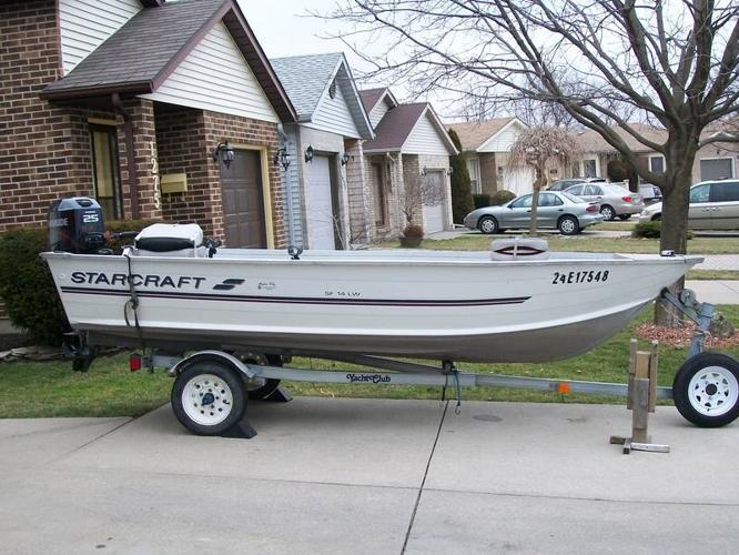 1998 starcraft with 25hp evinrude