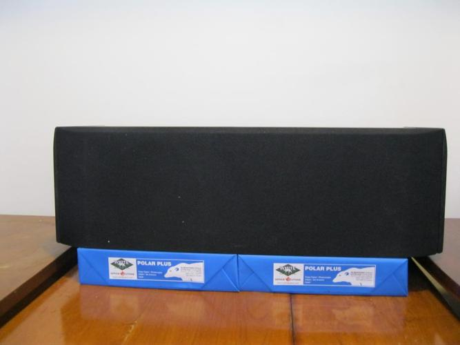2 Front Acoustic profiles PSL-88.4 with center & 2 rear speakers