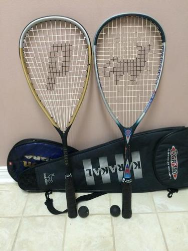 2 Hi-Quality Squash Racquets