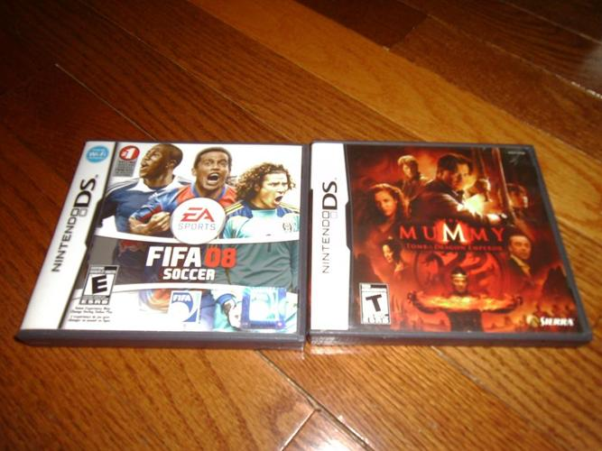 2 Nintendo DS Video Game for $5.00 each