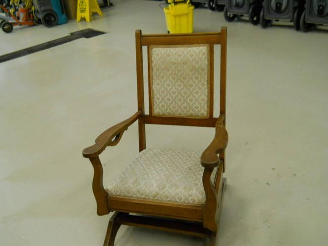 2 old rocking chairs