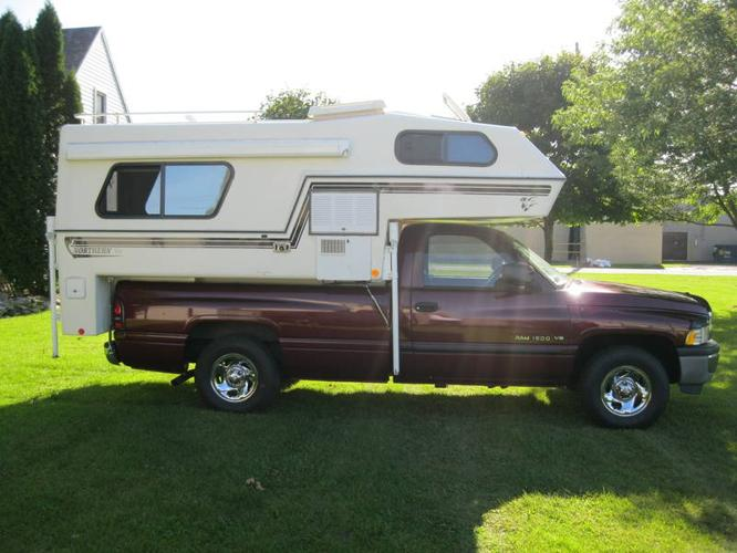 2000 dodge ram and northern lite truck camper for sale in ...