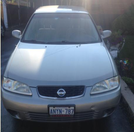 2003 Nissan Sentra GXE for sale! 155km, $2700 as is