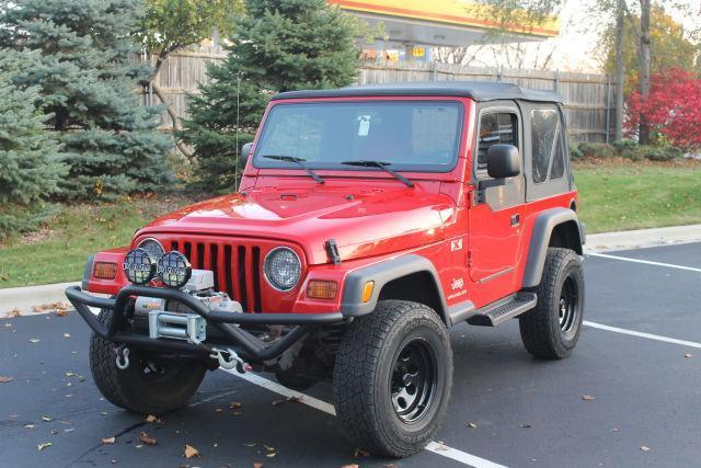 2004 Jeep Wrangler X AWD