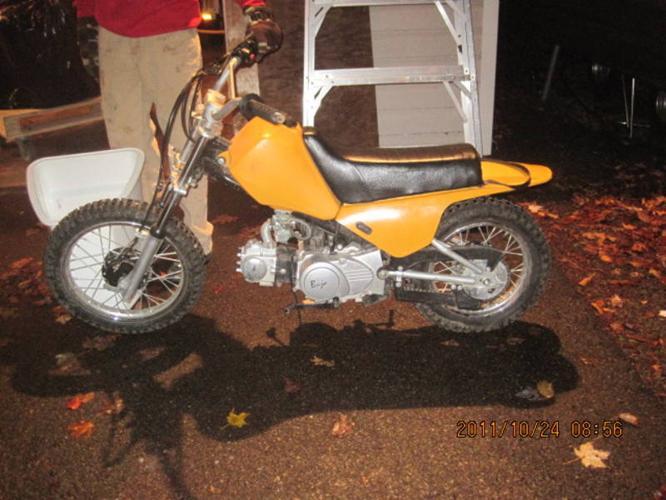 2005 BAJA DR50 (GREAT STARTER BIKE)