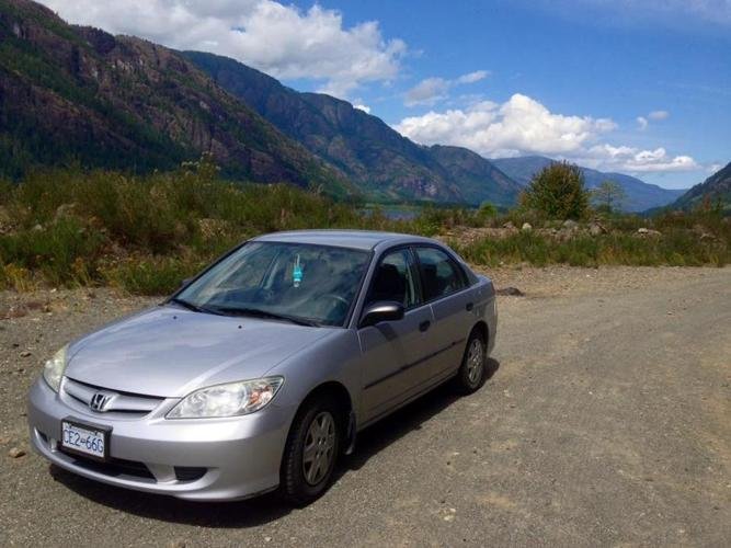 2005 Honda Civic Special Edition from BC, 121 557Km (Winter Tires)