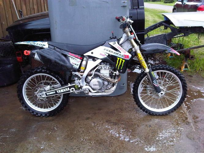 2006 yamaha yz450f for sale in consecon ontario ads in for Yamaha yz450f for sale