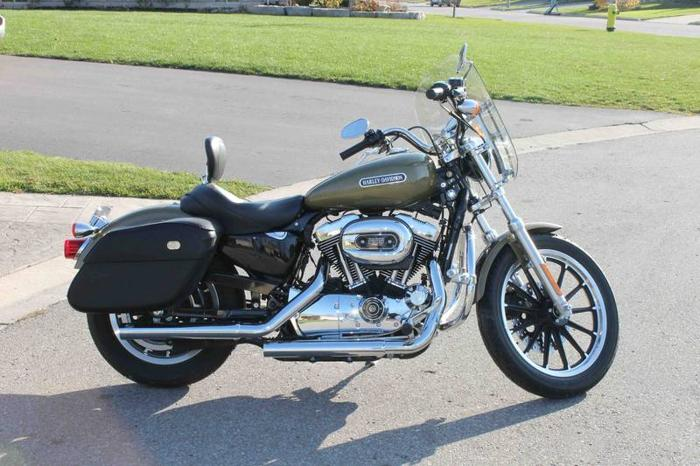 2007 Harley Davidson 1200 Sportster Low