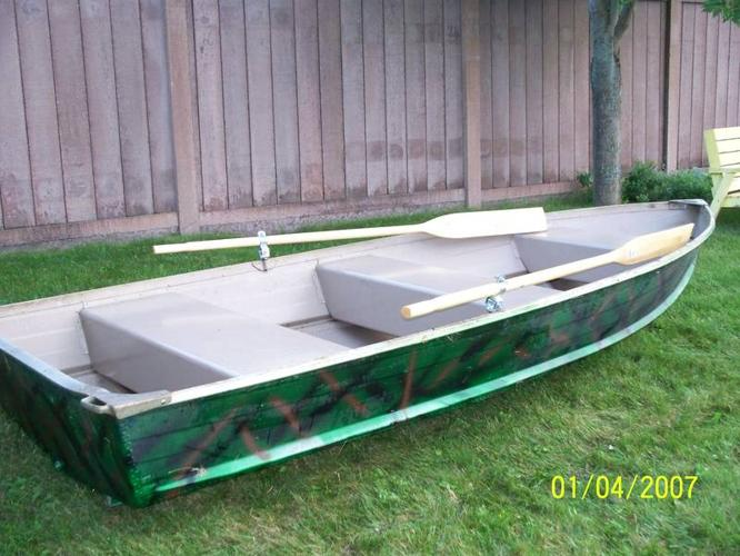 2007 legend 12 ft aluminum boat