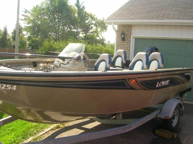 2007 LOWE FM175 FISHING MACHINE