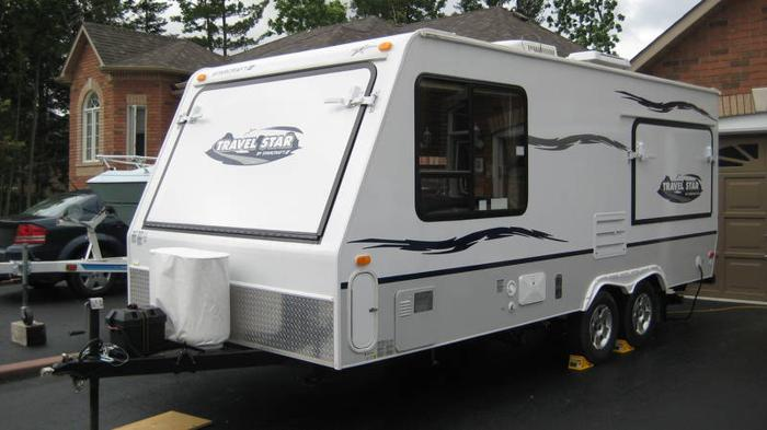 2007 Starcraft Travelstar 21sb Hybrid With 3 Pop Outs For